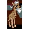 Santa Giraffe-icon
