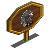 Silver Turkey Mastery Sign-icon