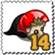 Dracula Hedgehog Stamp-icon