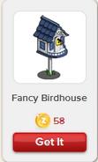 Fancy Birdhouse Rewardville unlocked