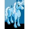 Giant Icy Blue Unicorn-icon