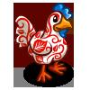 Leaf Swirls Chicken-icon