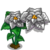 Silver Poinsettia-icon