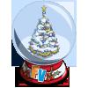 Winter Tree Snow Globe-icon