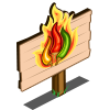Dynamite Pepper Mastery Sign-icon