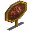 Monster Hog Mastery Sign-icon