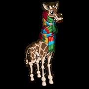Warm Giraffe-icon