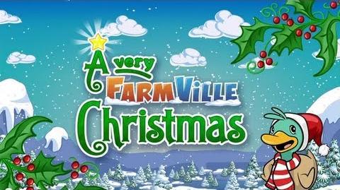 A Very FarmVille Christmas - A Holiday Film Trailer