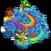 Rainbow Butterfly II-icon