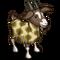 Retro Pattern Goat-icon
