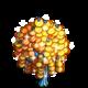 Yellow Sequin Tree-icon