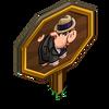 Al Capone Pig Mastery Sign-icon