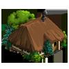 Dark Thatched Hut-icon