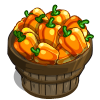 Orange Bell Pepper Bushel-icon