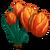 Orange Tulip Full Bloom-icon