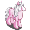 Pink Gypsy Horse-icon