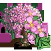 Pink Hanging Flower Tree-icon