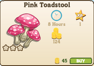 Pink Toadstool Market Info