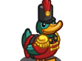 Toy Soldier Duck