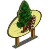Young Sequoia Tree Mastery Sign-icon