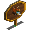 African Cow Mastery Sign-icon