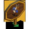 Blue Samurai Horse Mastery Sign-icon