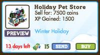 Holiday Pet Store Market Info