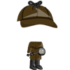 Male Detective Costume-icon