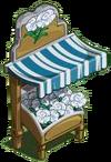 White Carnation Stall-icon