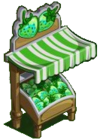 Green Strawberries Stall-icon