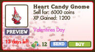 Heart Candy Gnome Market Info (January 2012)