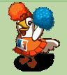 Entzücktes Huhn-icon