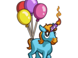 4th Birthday Unicorn Foal