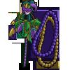 Mardi Gras Tree-icon