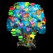 Rainbow Fairy Tree-icon