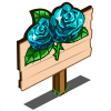 Aquamarine Rose Mastery Sign-icon