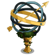 Armillary Sundial Tree-icon