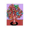 Decoupage Tree-icon