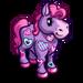 Heart Pattern Mini Horse-icon