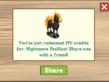 Nightmare Stallion