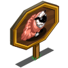 Ballroom Gown Sheep Mastery Sign-icon