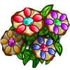 Colored Pretzel Flowers-icon