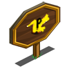 Flying Dragon Lizard Mastery Sign-icon