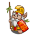 Hawaiian Warrior Gnome-icon