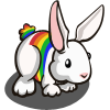Rainbow Rabbit-icon