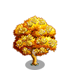 Gold Rose Tree-icon