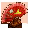 Oriental Hand Fan-icon