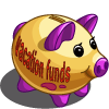 Vacation Piggy Bank-icon