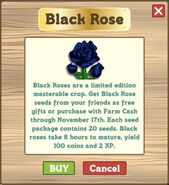 Blak Rose market