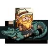 Croc Wrangler Gnome-icon